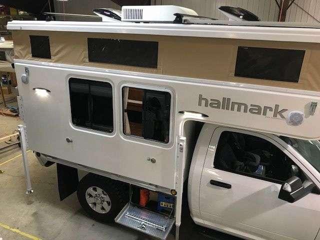 hallmark flatbed truck camper