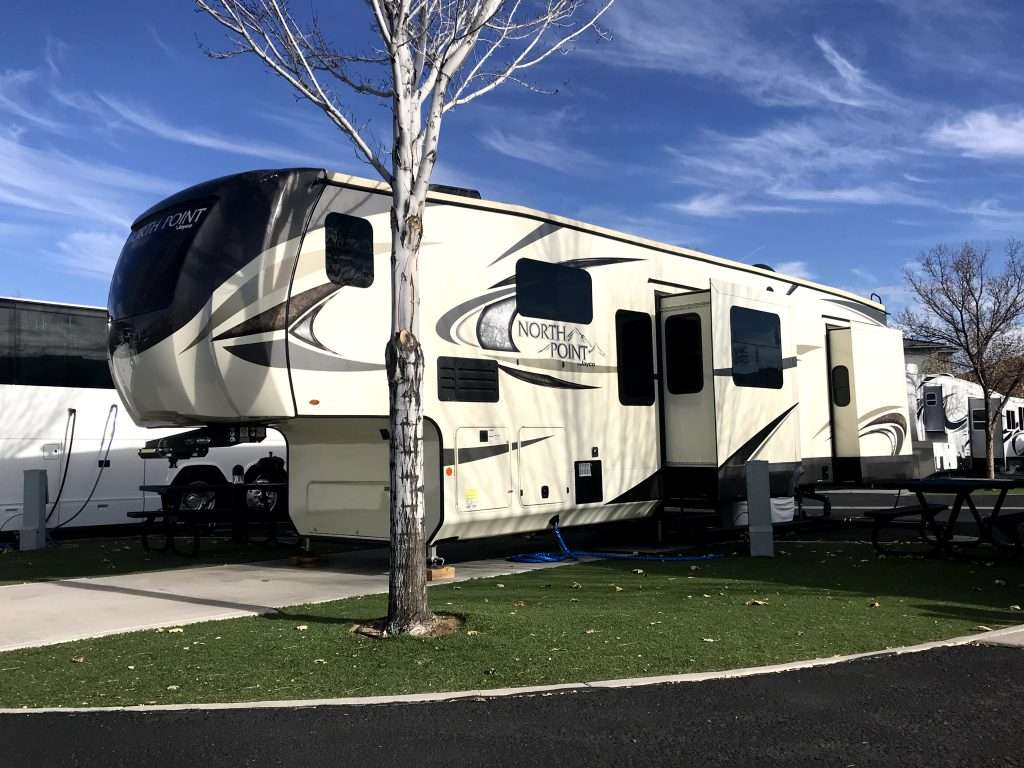 North Point Fifth wheel trailer