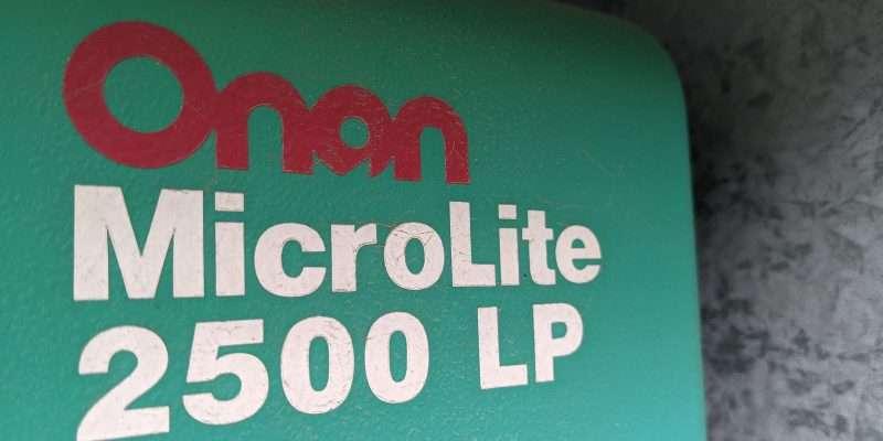 ONAN generator microlite 2500 LP