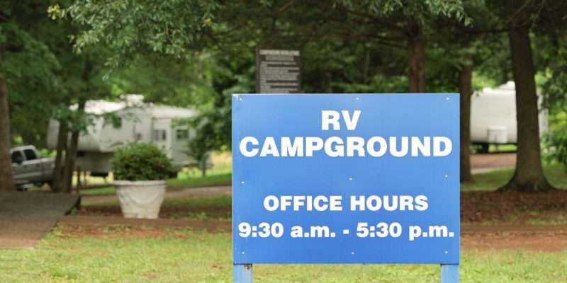 RV park rules