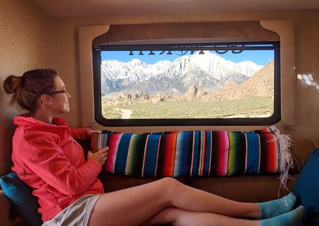 Insulated double-pane truck camper window