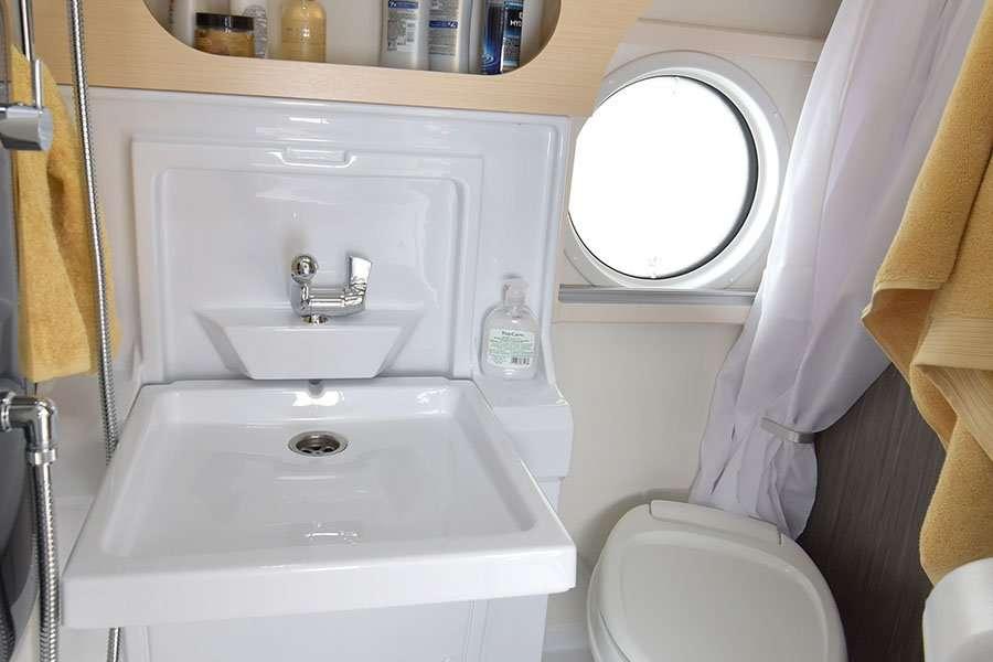 nuCamp TAB 400 Teardrop Camper Bathroom