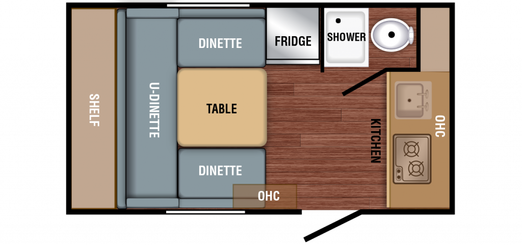 Braxton Creek Bushwhacker Plus 15 FK Floor Plan