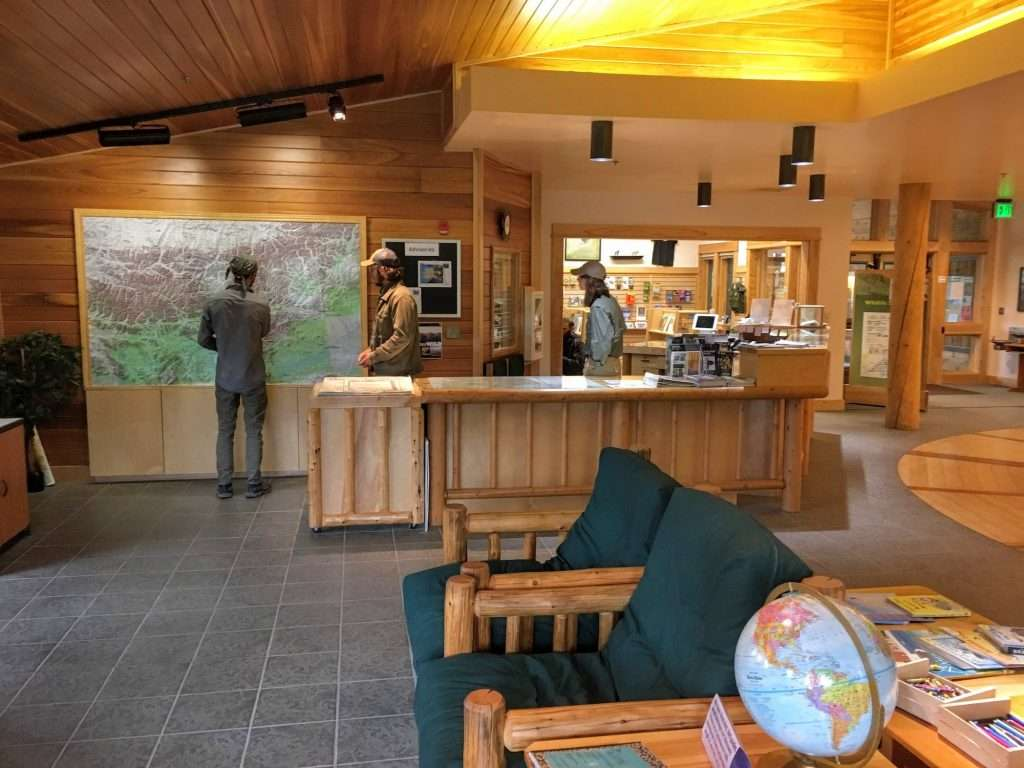 coldfoot visitor center inside