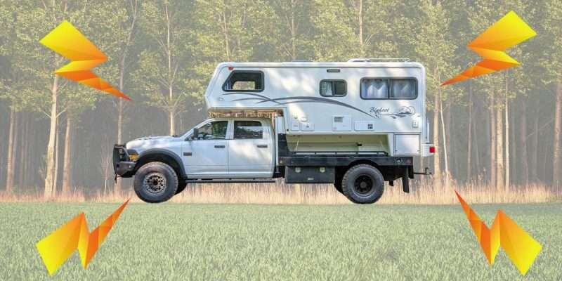 Overland Truck Camper Solar Air Conditioning Build