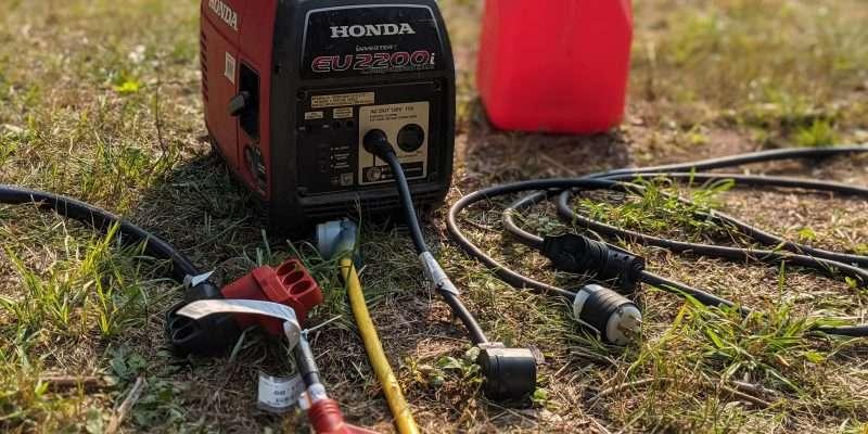 portable RV generator