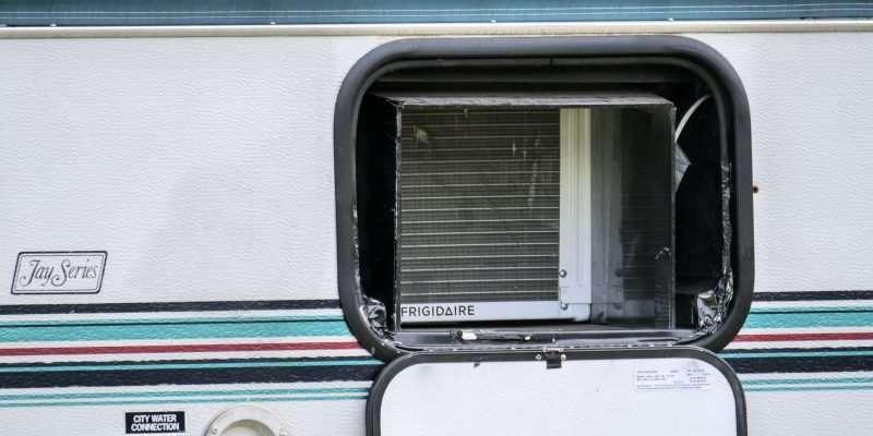 Window Air Conditioner In RV