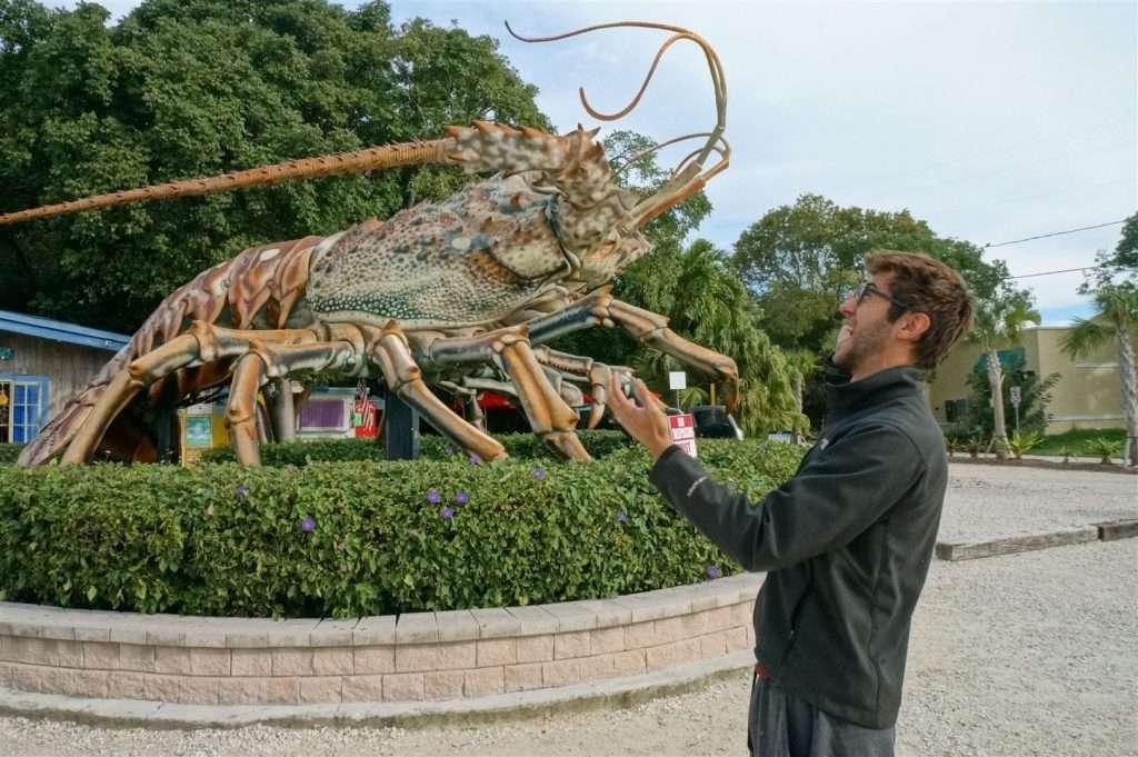 Big Betsy the Giant Lobster on Islamorada