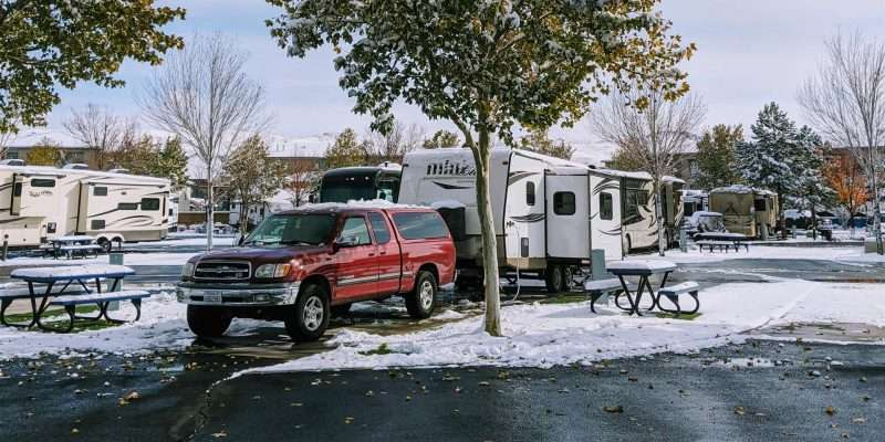 4 season travel trailer