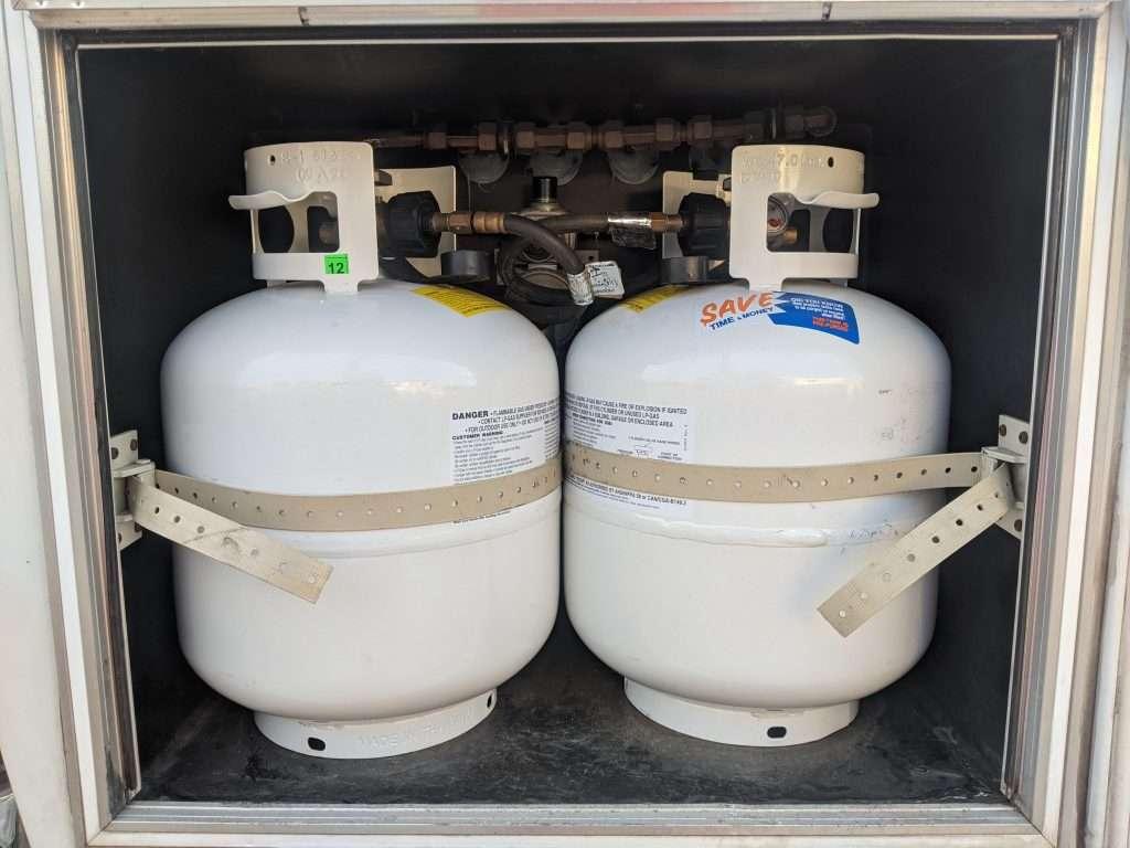 RV propane tanks