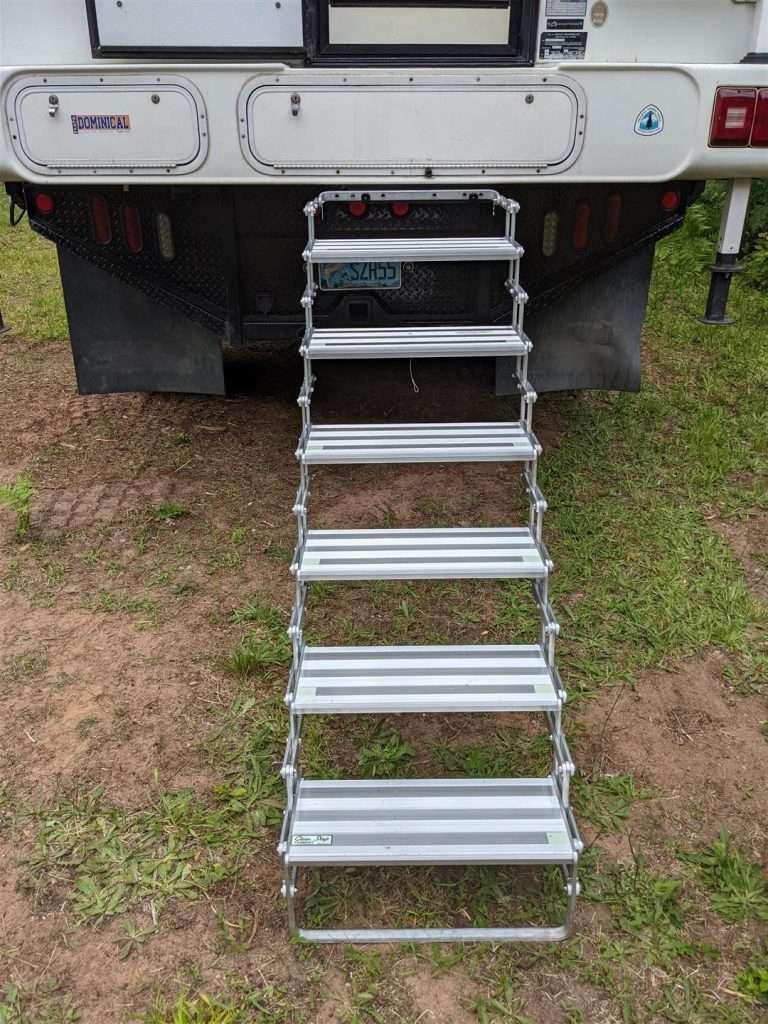 truck camper steps