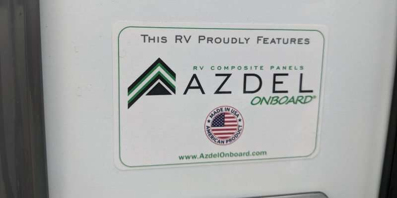 Azdel Panel Sticker