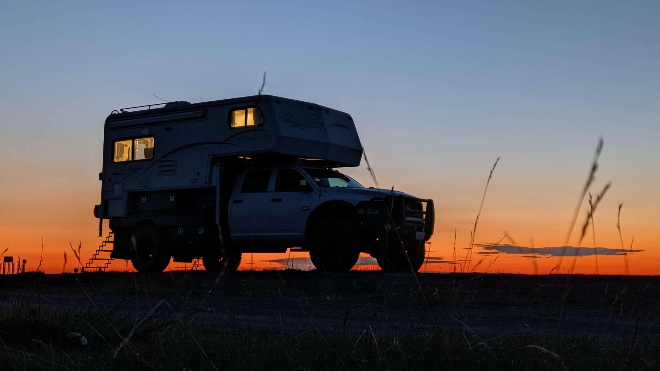 overlanding truck camper