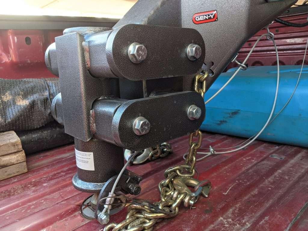 fifth wheel gooseneck pinbox adapter