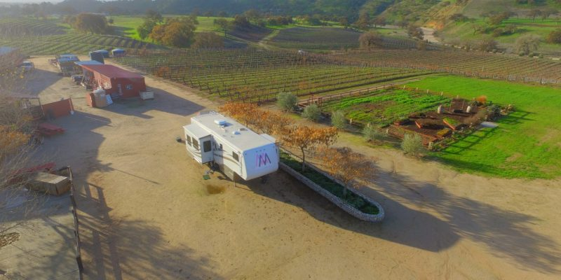 harvest host rv parking