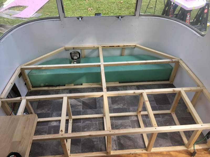 airstream bed renovation