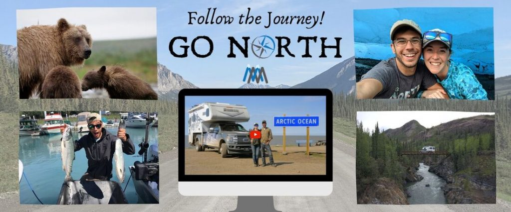 follow the journey go north