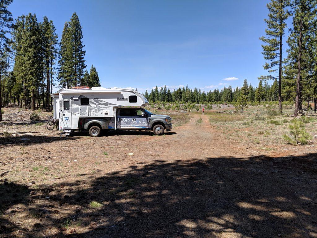go north truck camper