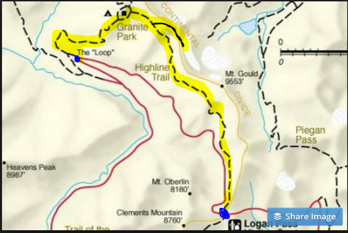 highline trail map