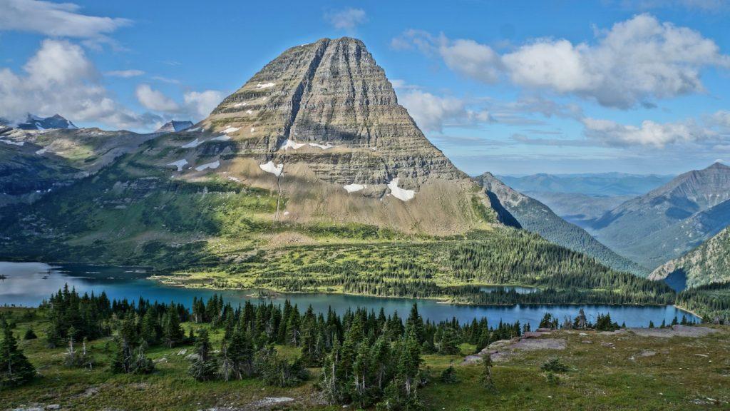 hidden lake glacer national park