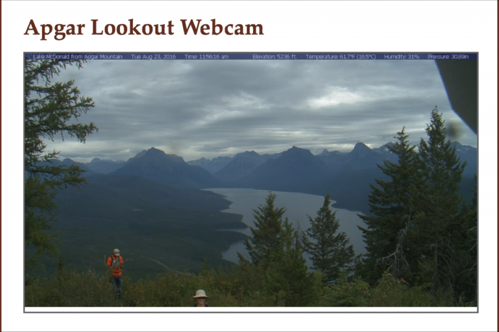 apgar lookout webcam live view