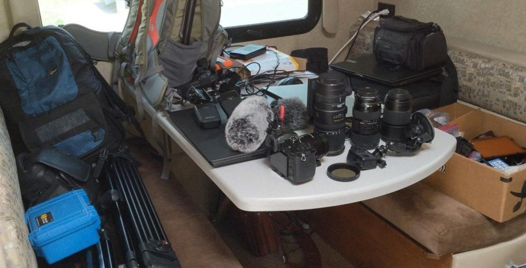 Camera gear alaska