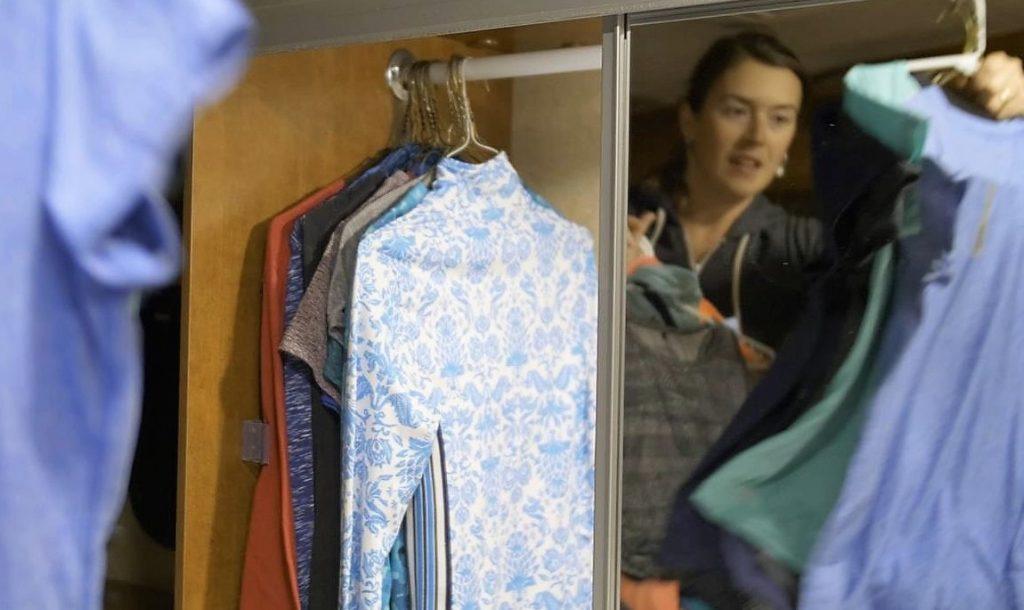 truck camper clothes