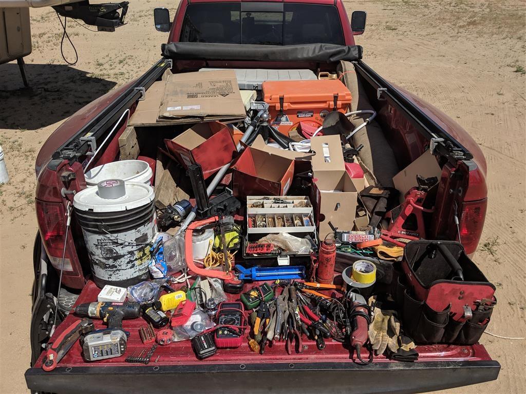packing tools for alaska trip