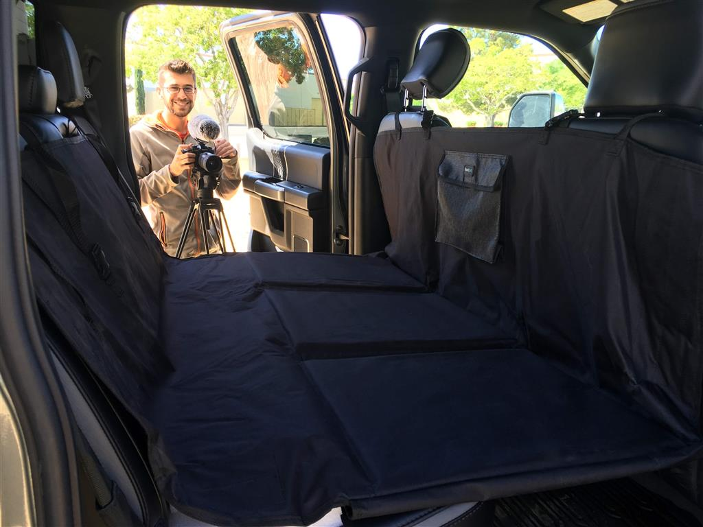 Rear seat 2020 F350 with pet bridge for alaska packing