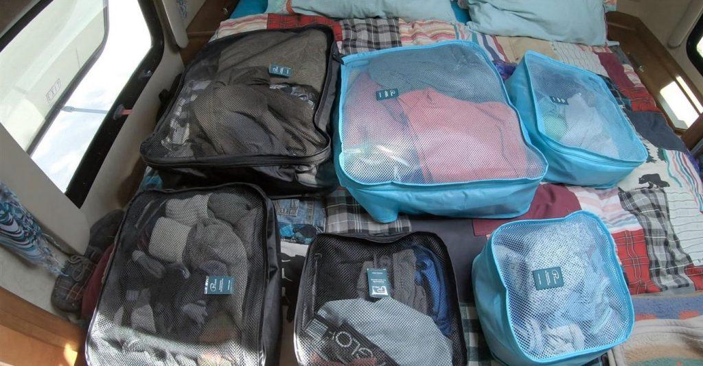 truck camper packing