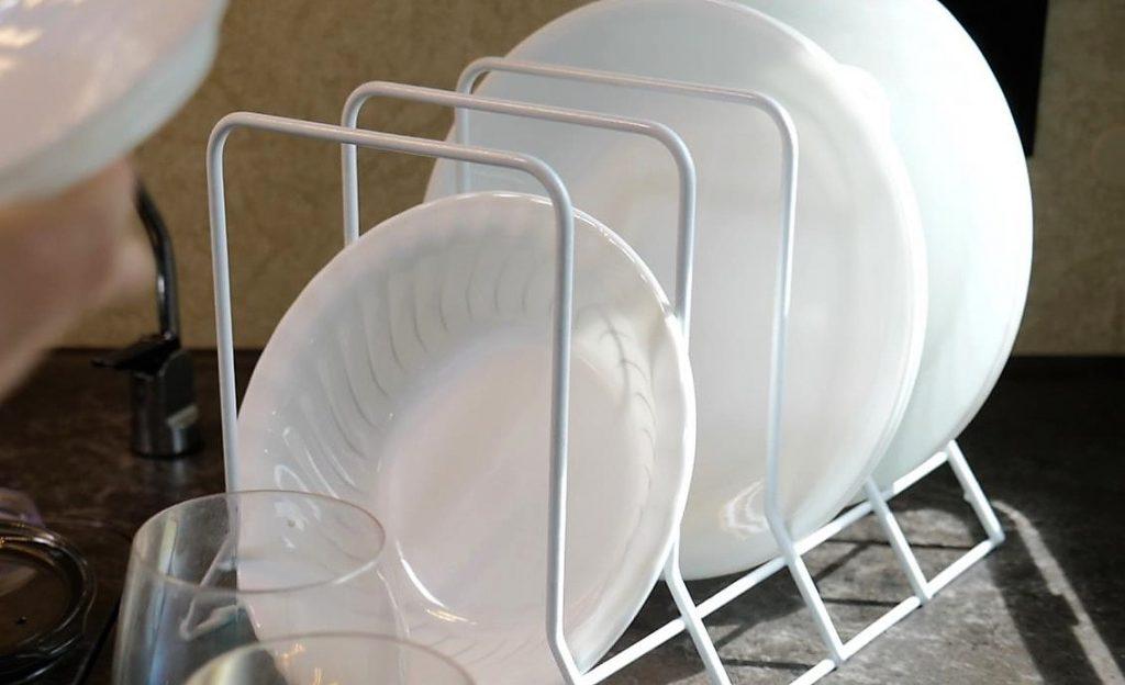 dishes truck camper