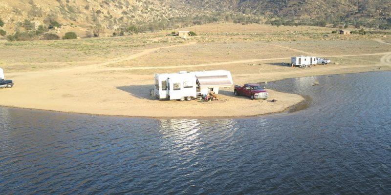 boondocking lake isabella