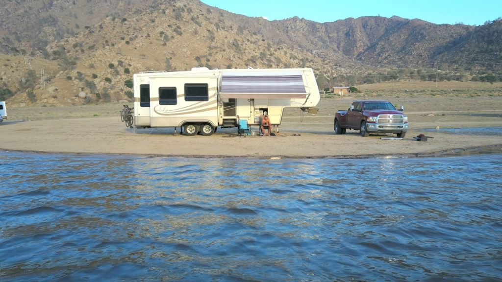 boondocking lake isabella mortons on the move