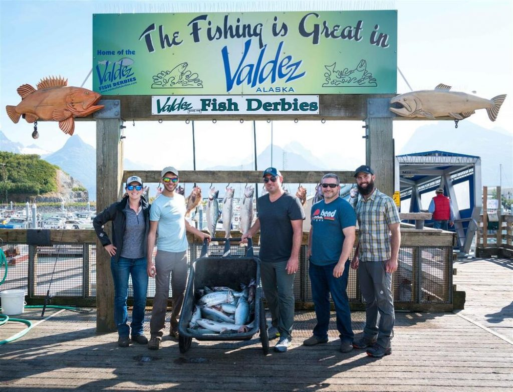 salmon fishing is great in valdez alaska