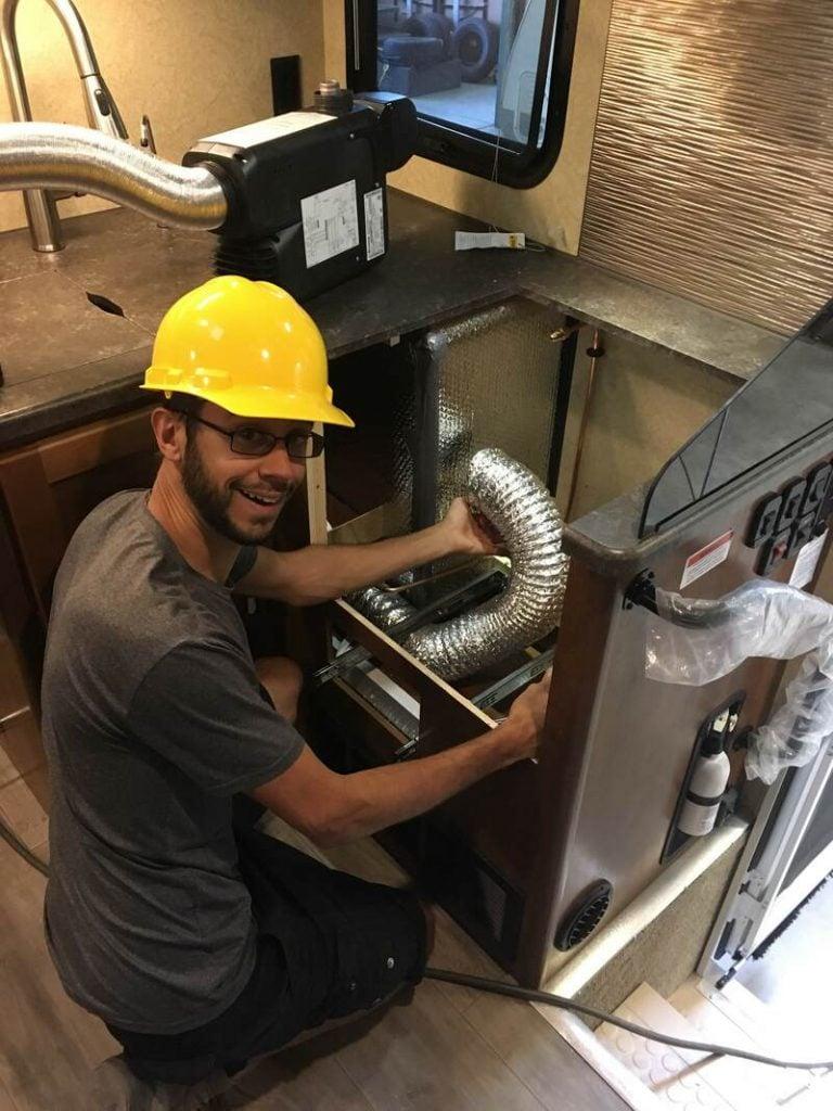 installing varioheat furnace